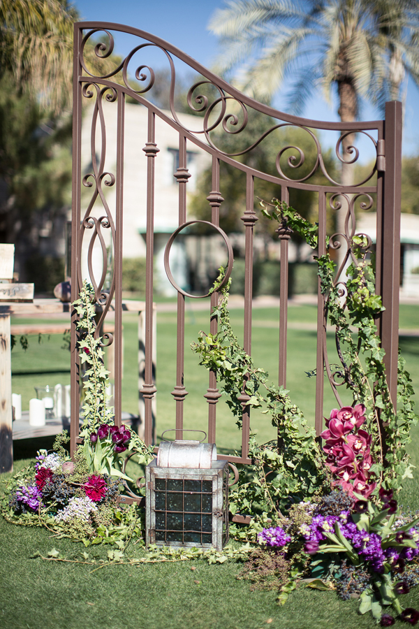 Rustic Green Wedding at Arizona Biltmore