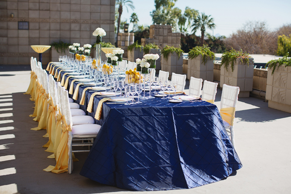 Intimate Citrus Reception