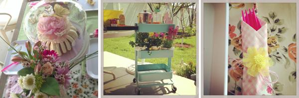 Garden themed baby sprinkle