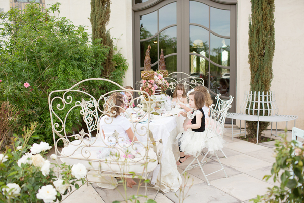 Angel Cakes Bakery Storybook Tea Party Styled Shoot