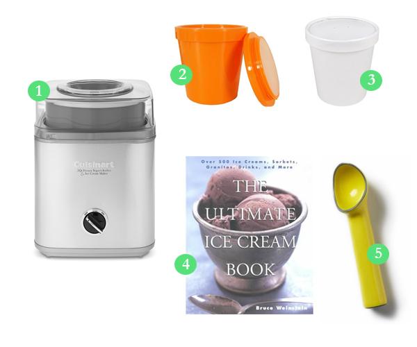Homemade ice cream necessities - super easy!