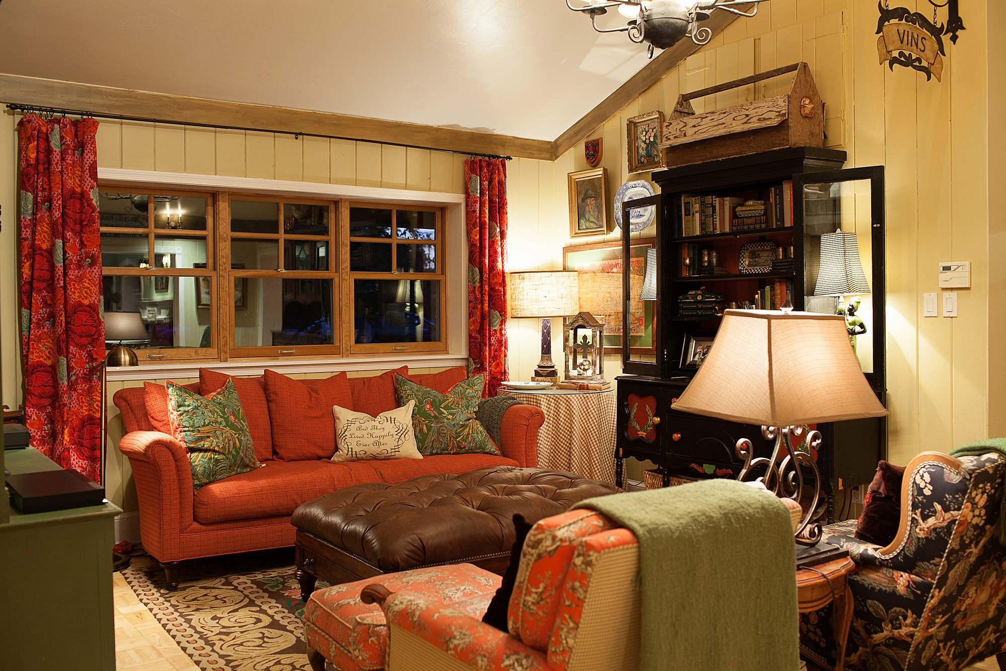 boho farm and home cottage English style cottage lived in feel, come see the home tour