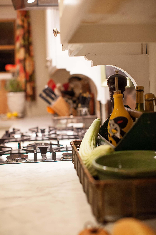 words above kitchen cozy kitchen boho farm house tour on blog English cottage style