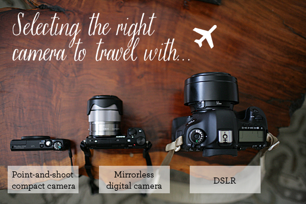 Which camera to take traveling?