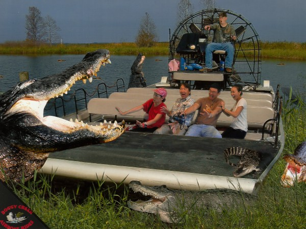 Gatorland + Boggy Creek Airboat Ride