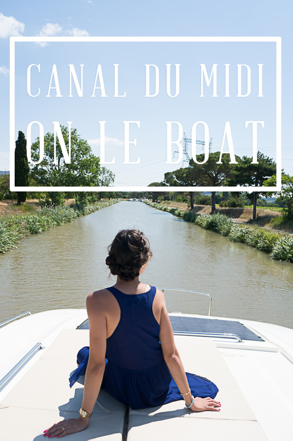 Canal du Midi on Le Boat in France
