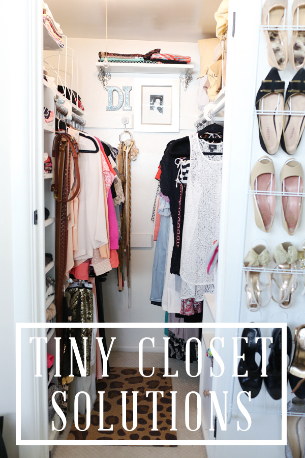 Working With A Tiny Closet Diana Elizabeth