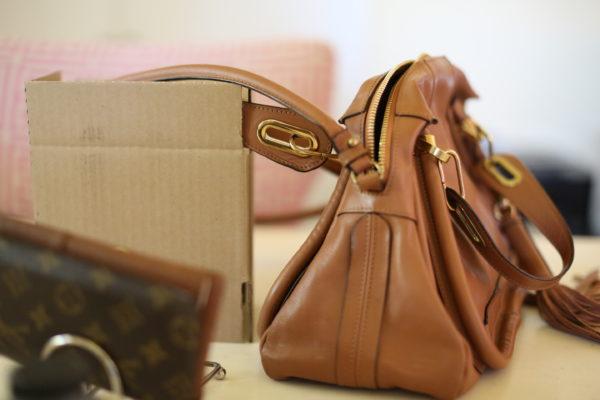 Repairing A Leather Strap On A Handbag Diana Elizabeth