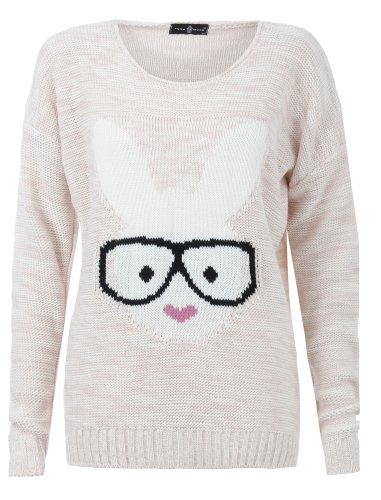 bunny-rabbit-glasses-sweater-sweatshirt-shirt