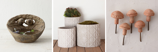 gardening-blogger-home-decor-tips-bird-bath-mushroom-decor-pots-004