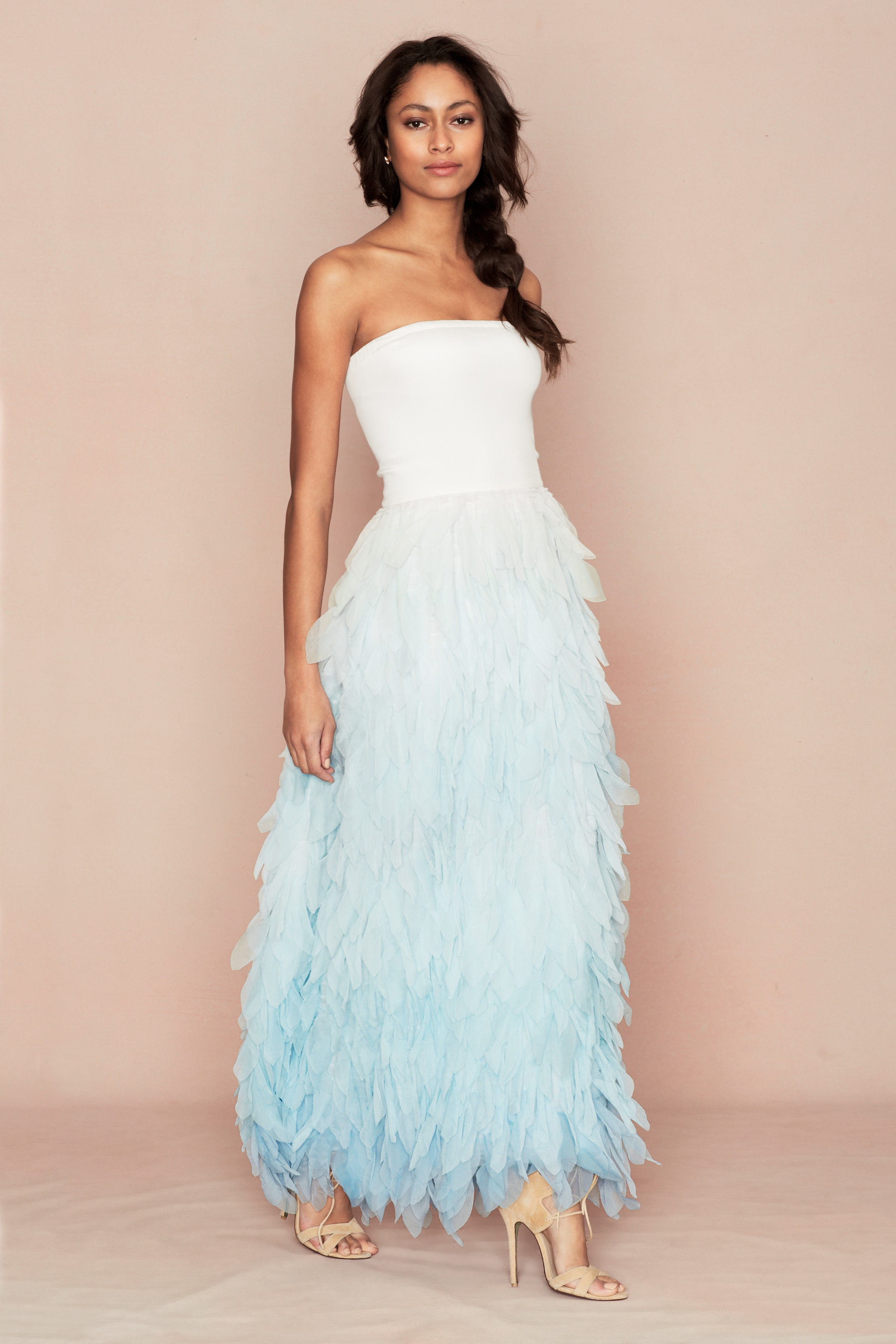 Beach Style Wedding Dresses Diana Elizabeth