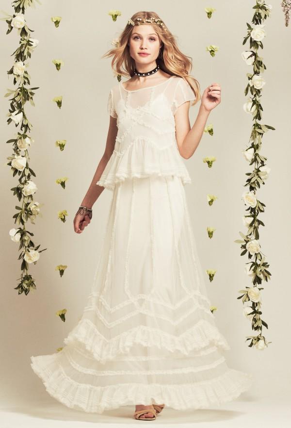 Beach Style Wedding Dresses Diana Elizabeth