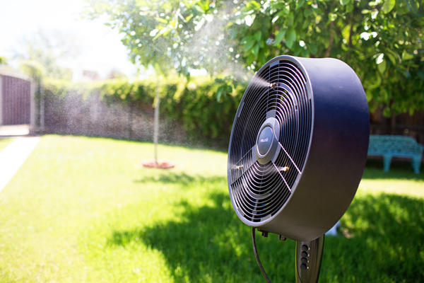 perfect outdoor misting fan for summer - Misting Fan