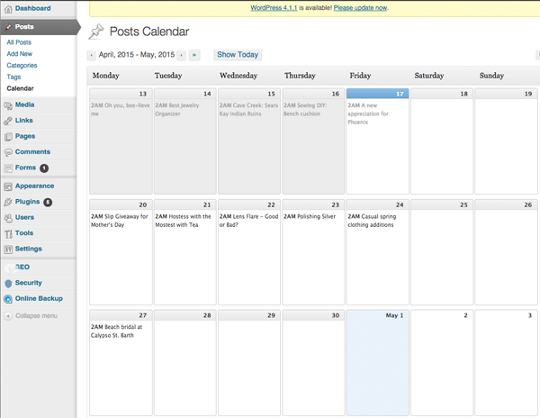 wordpress-calendar-plugin