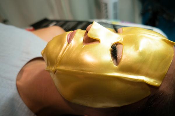 24kt gold facial mask collagen