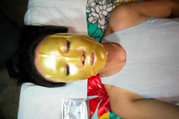 24kt gold face mask collagen review