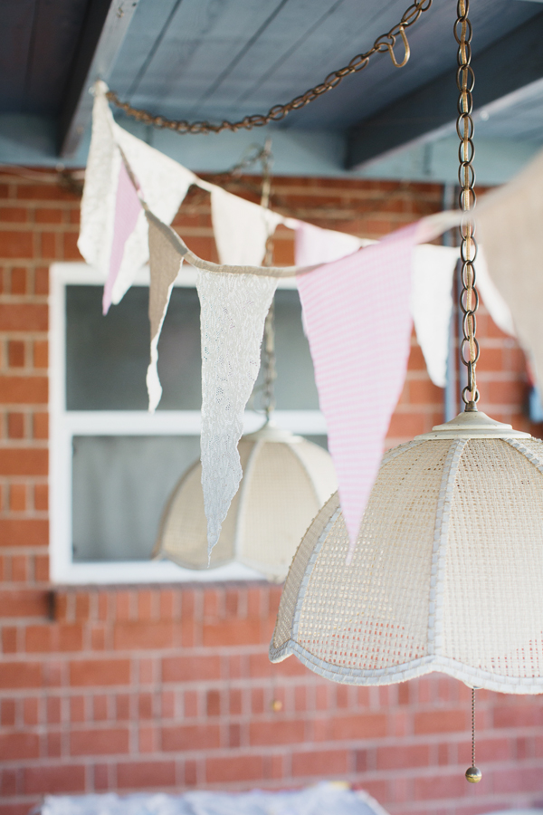 Sewing DIY: Rustic Bunting Flag