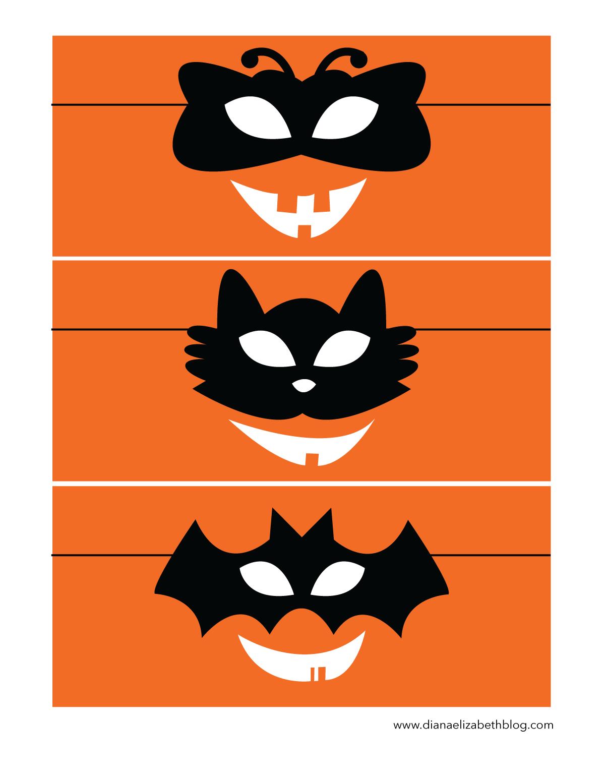 halloween-pumpkin-faces-fanta-bottles