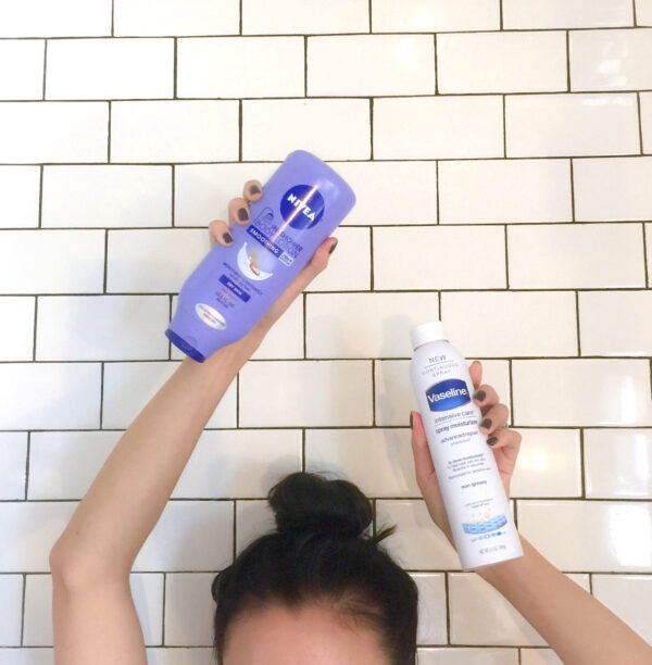 2 easy lotion products: for lazy lotion ladies