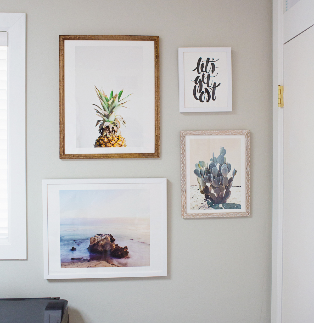 Gallery Wall Prints styling a gallery wall of art prints | diana elizabeth