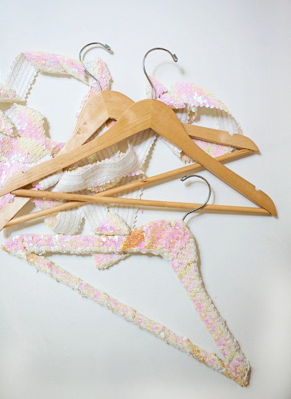 Guest Coat Rack & Sequin Hangers
