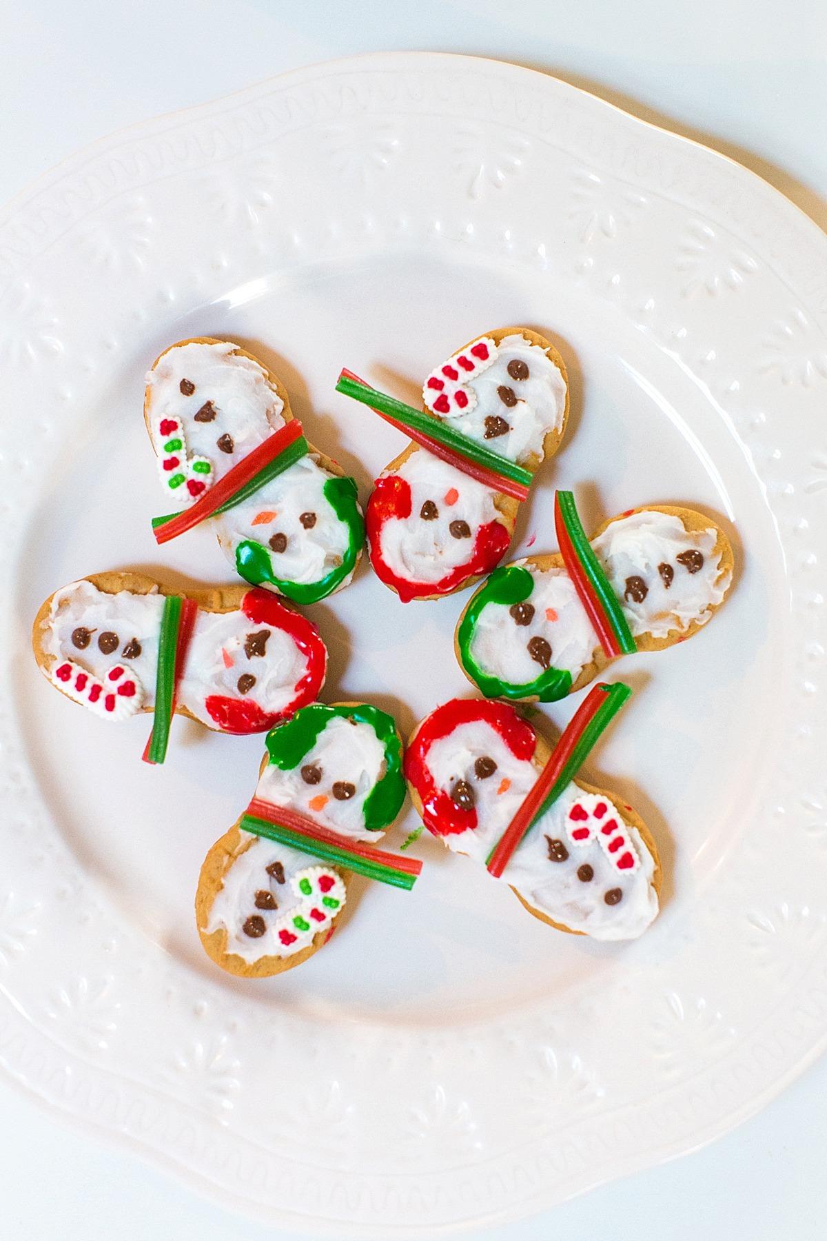 nutter-butter-cookies-christmas-santa-snowmen-decorating-ideas-1555