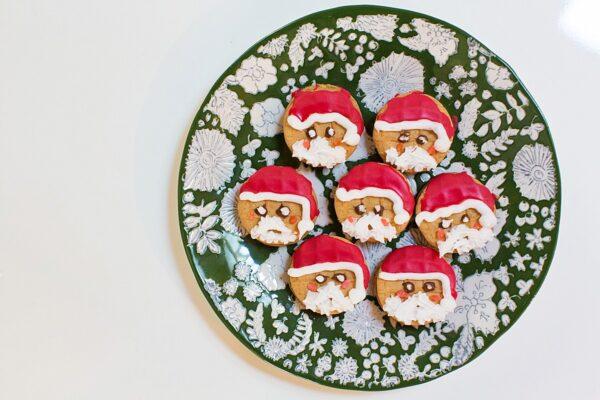 NUTTER BUTTER Santas + Snowmen