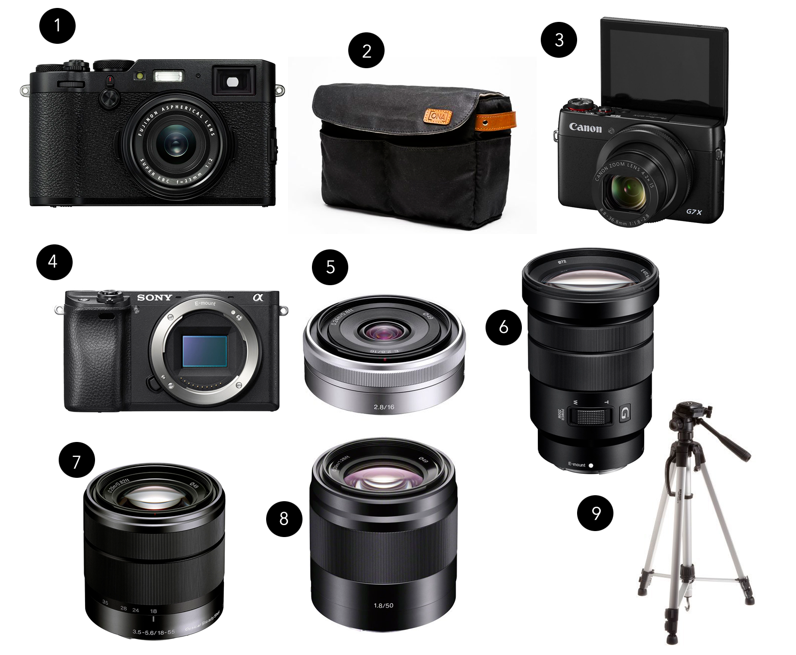mirrorless camera ideas for travel or daily use