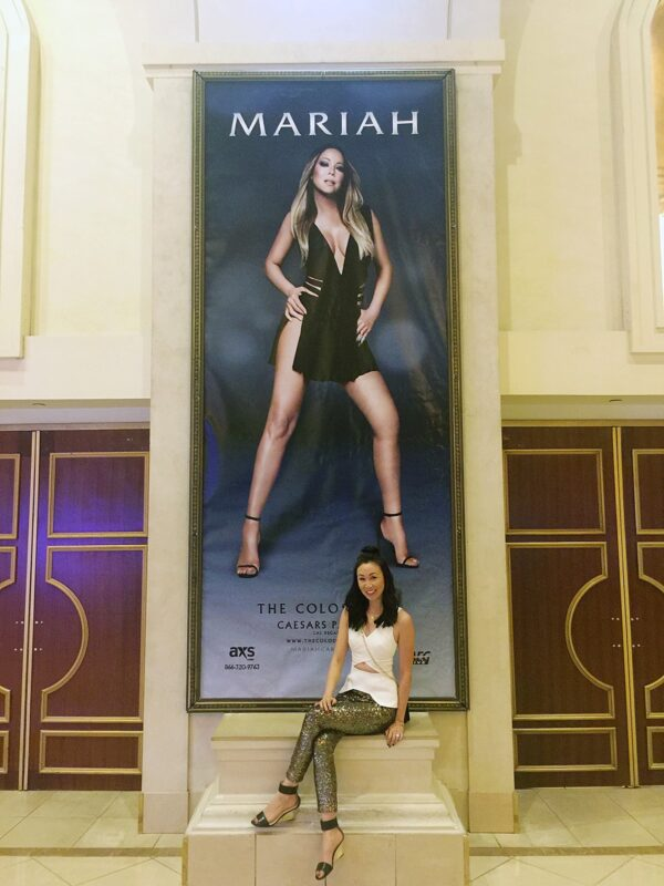 Mariah Carey in Vegas, again!