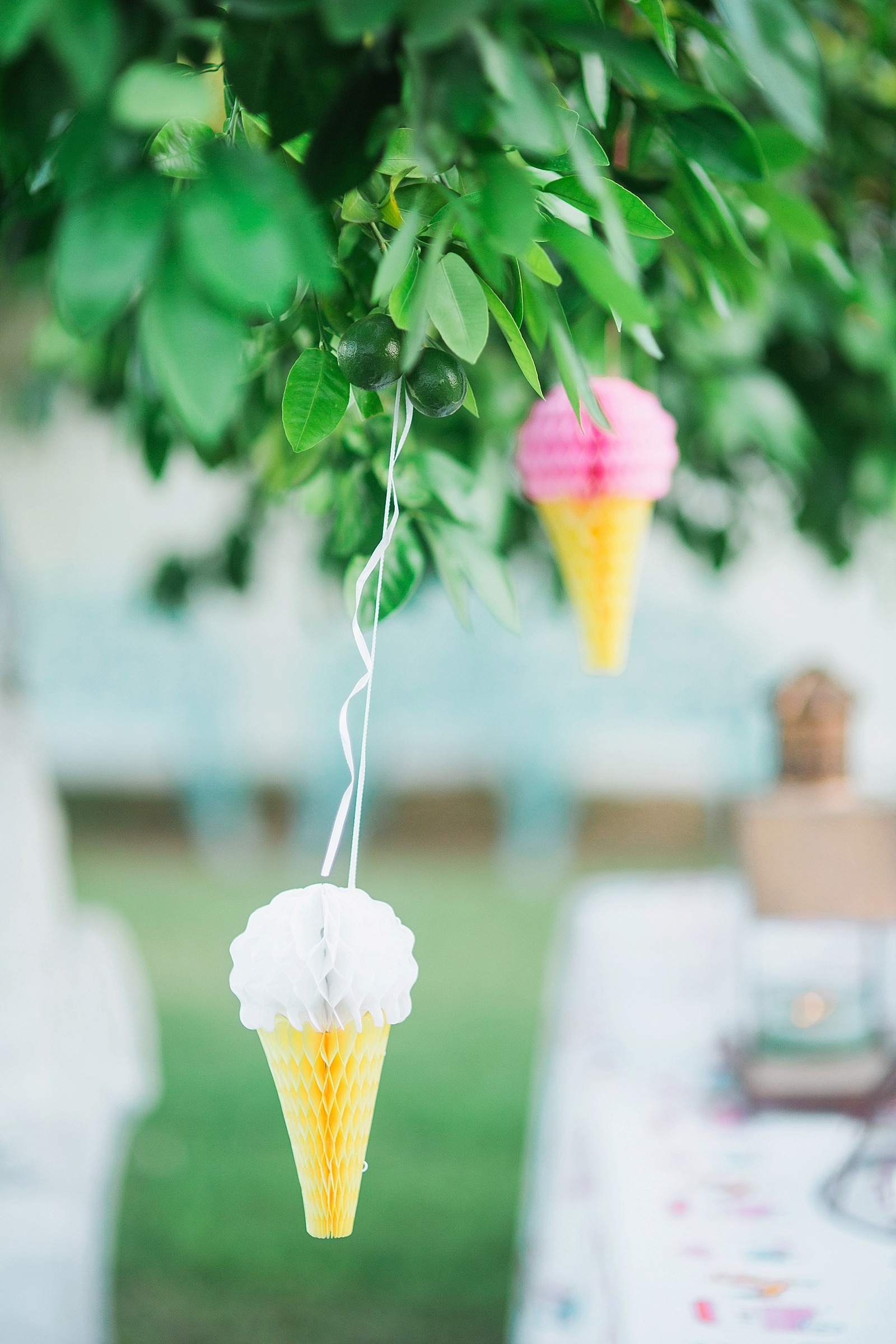 ice cream sprinkle baby shower party idea