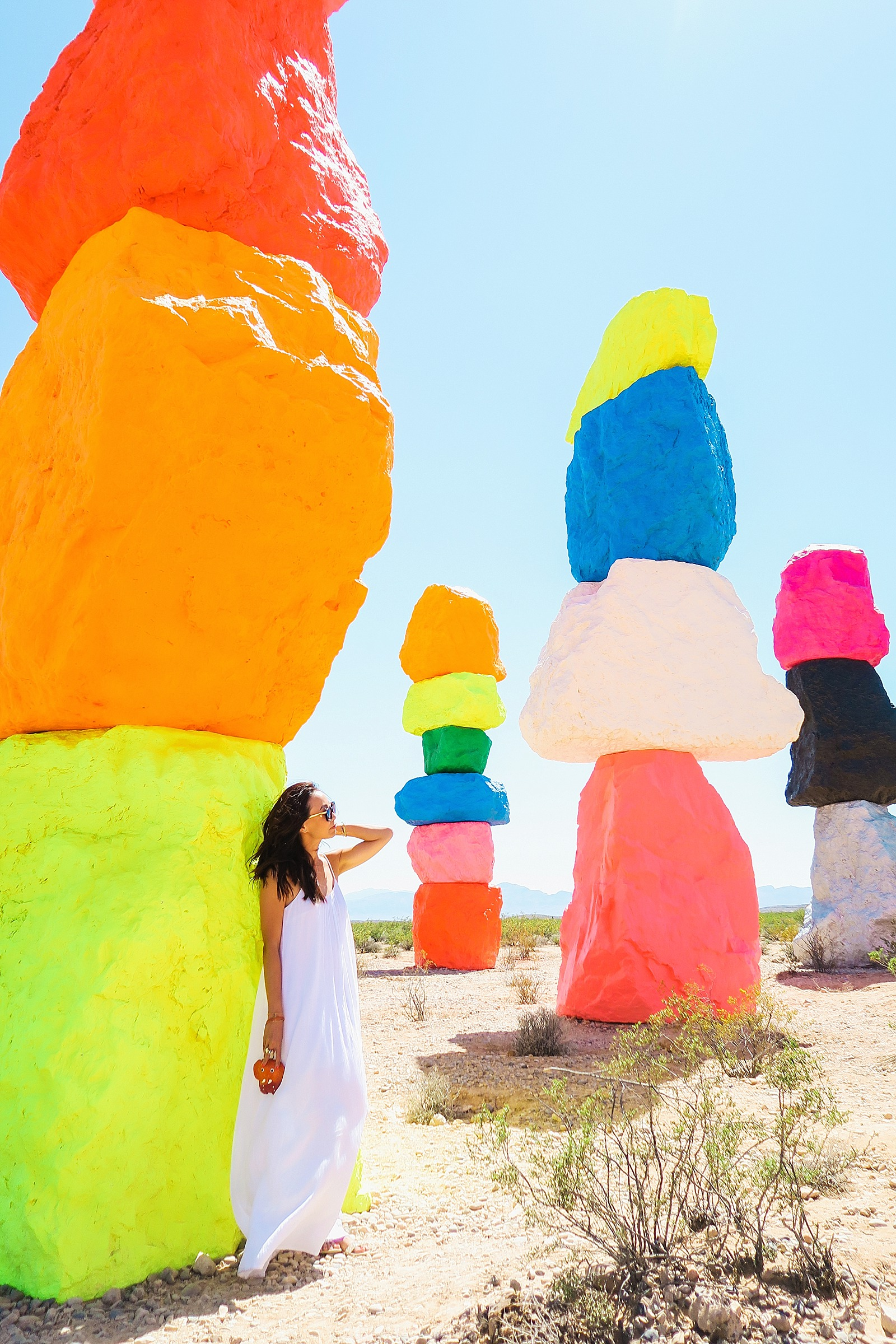 Rainbow Colors In The Desert Diana Elizabeth