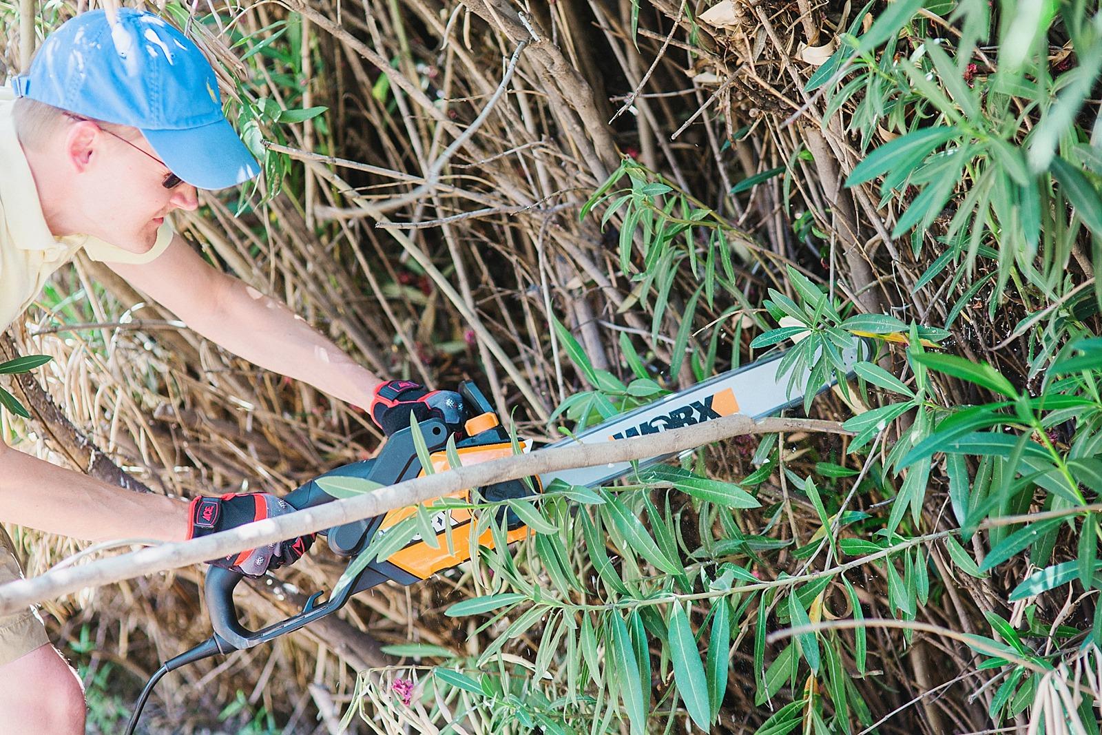 worx-chain-saw-review-gardening-blogger-home-diana-elizabeth-115a