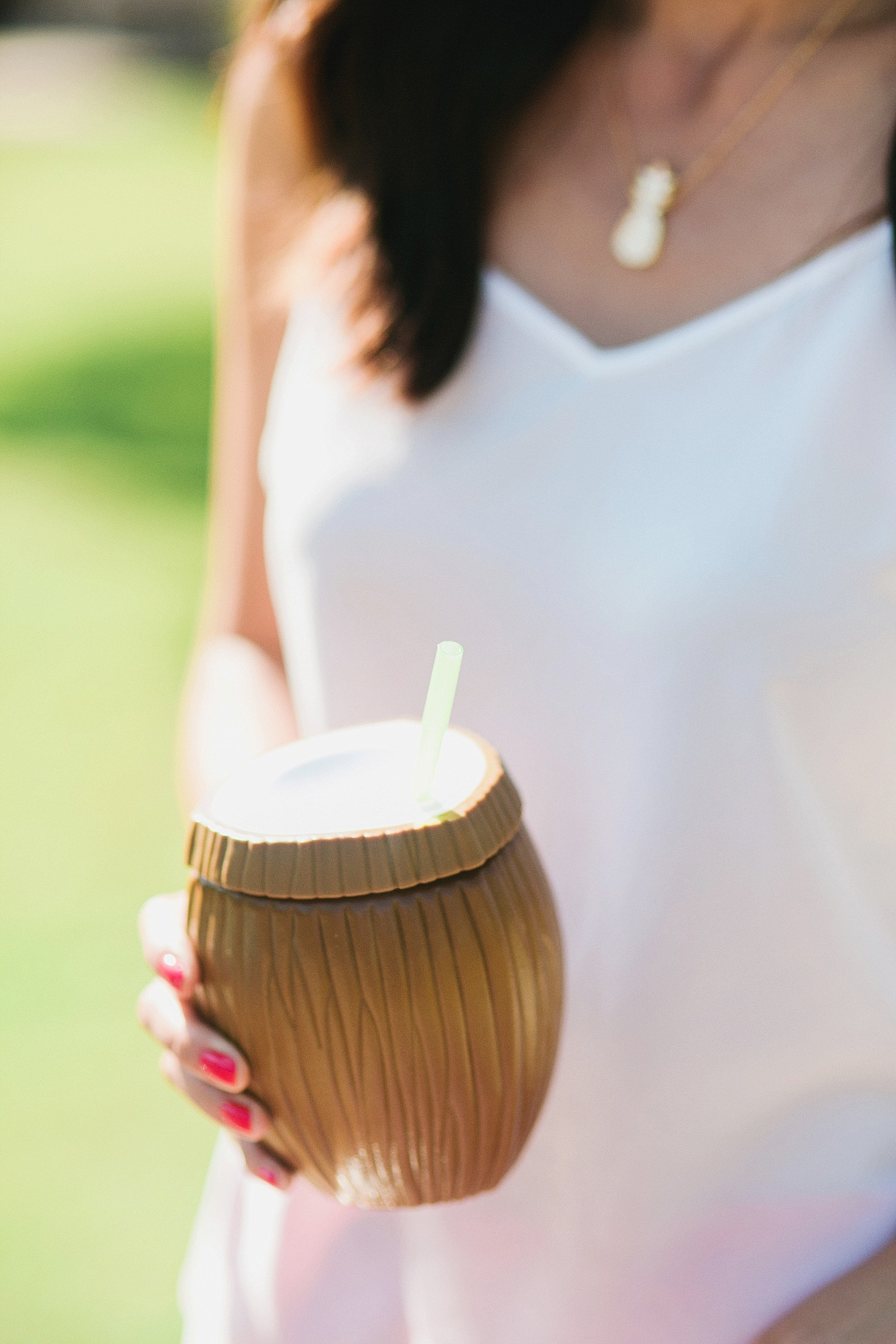 coconut chiller drink cup