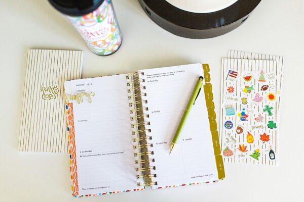 Happy Everything Paper Agenda