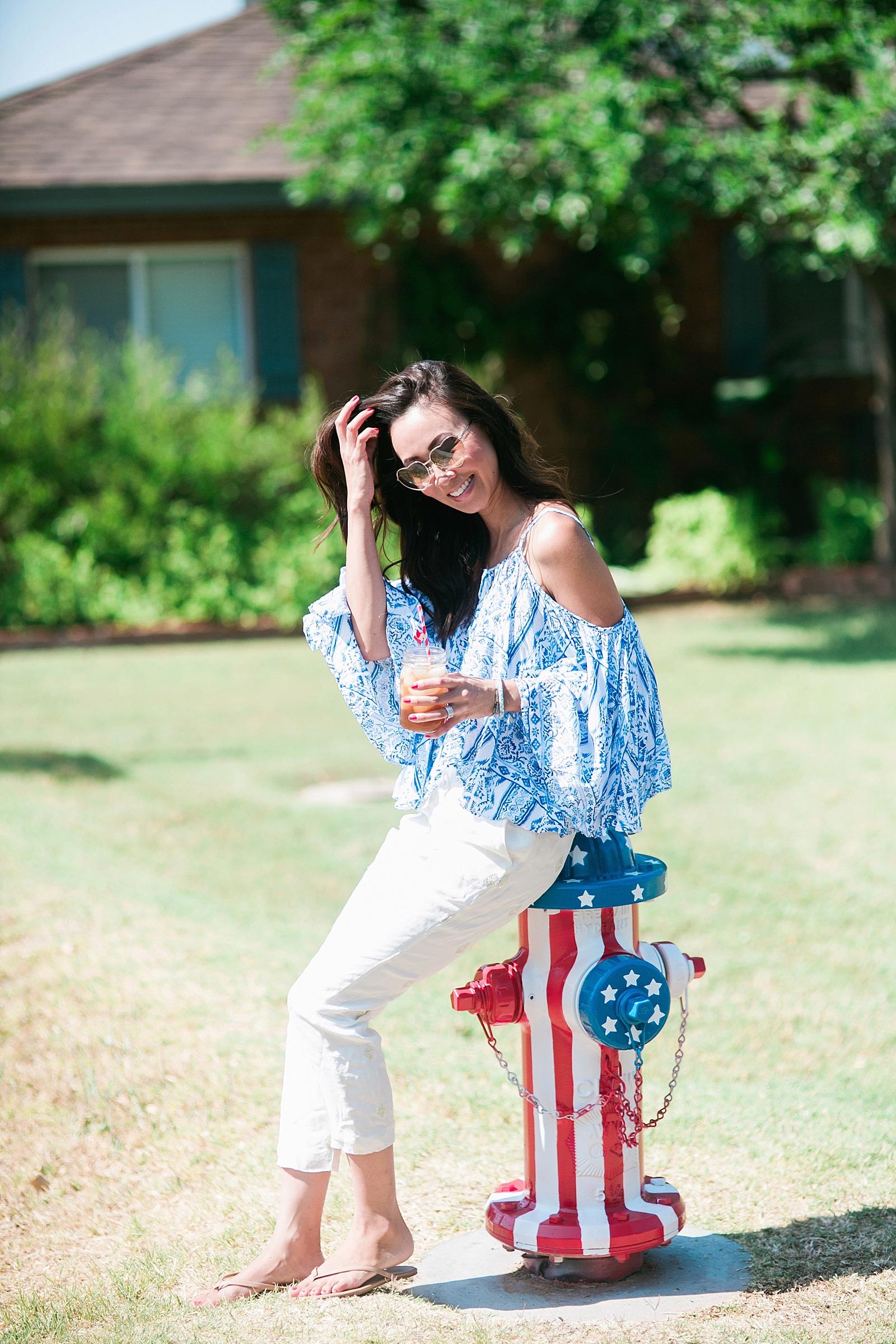 american-flag-fire-hydrant-painted-artistic-lifestyle-blogger-diana-elizabeth-blog-arizona-fashion-pool-summer-time_0097