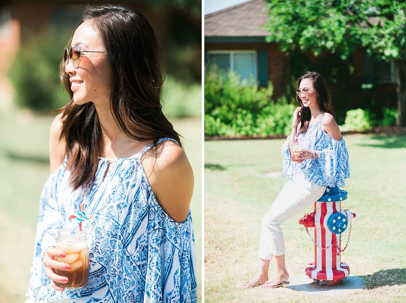 american-flag-fire-hydrant-painted-artistic-lifestyle-blogger-diana-elizabeth-blog-arizona-fashion-pool-summer-time_0099
