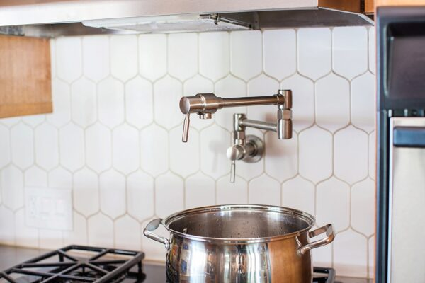 Kitchen Pot Filler Positioning + Install