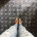 slate mosaic tile brushed squares floor and decor