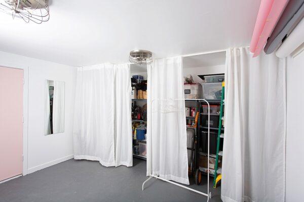 Studio Storage and Organization
