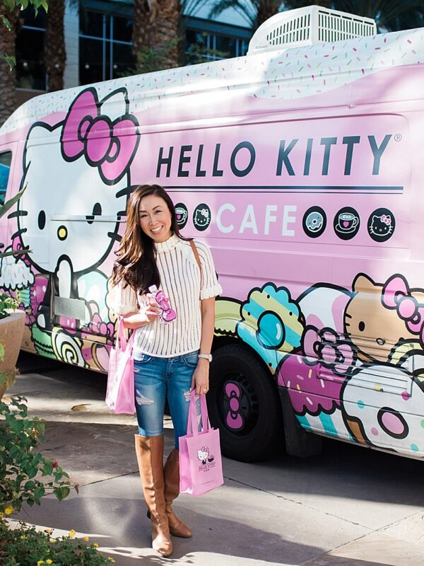 hello kitty cafe truck traveling information