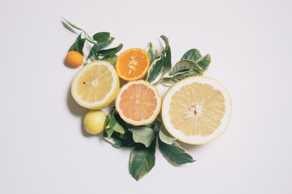 food photography citrus pink lemon grapefruit
