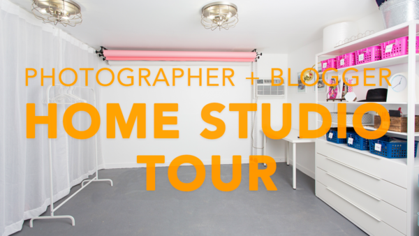 Video: Photographer + Blogger Home Studio Tour