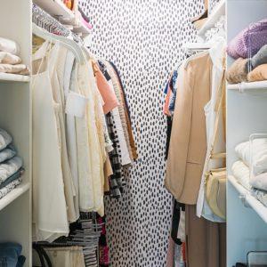 diana-elizabeth-blog-home-closet-spot-dot-wallpaper-tiny-closet-solutions-organization-3255