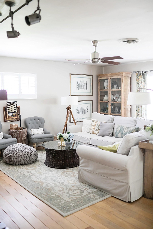 Glade Living Room Pottery Barn Home Decor Lifestyle Home Blogger