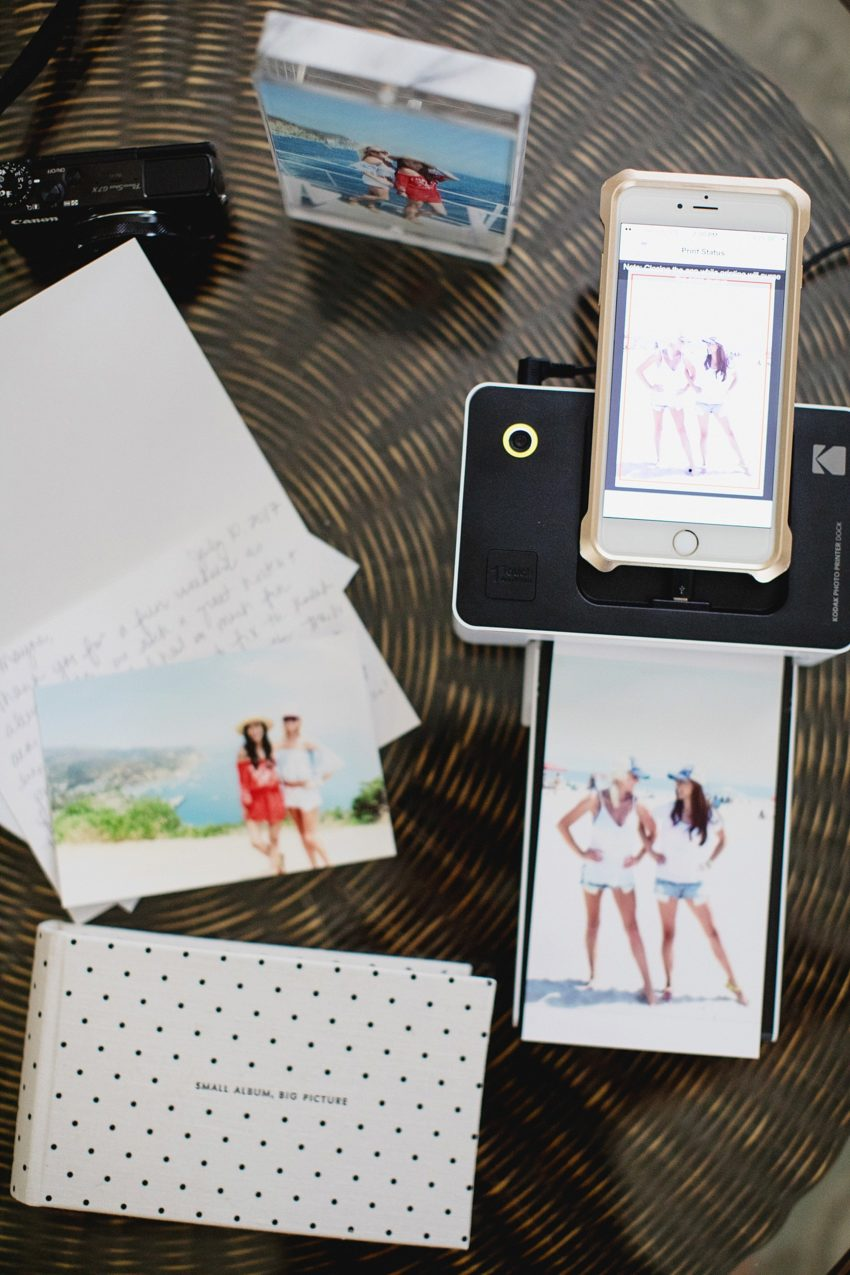 Print Summer Memories with the Kodak Photo Printer Dock