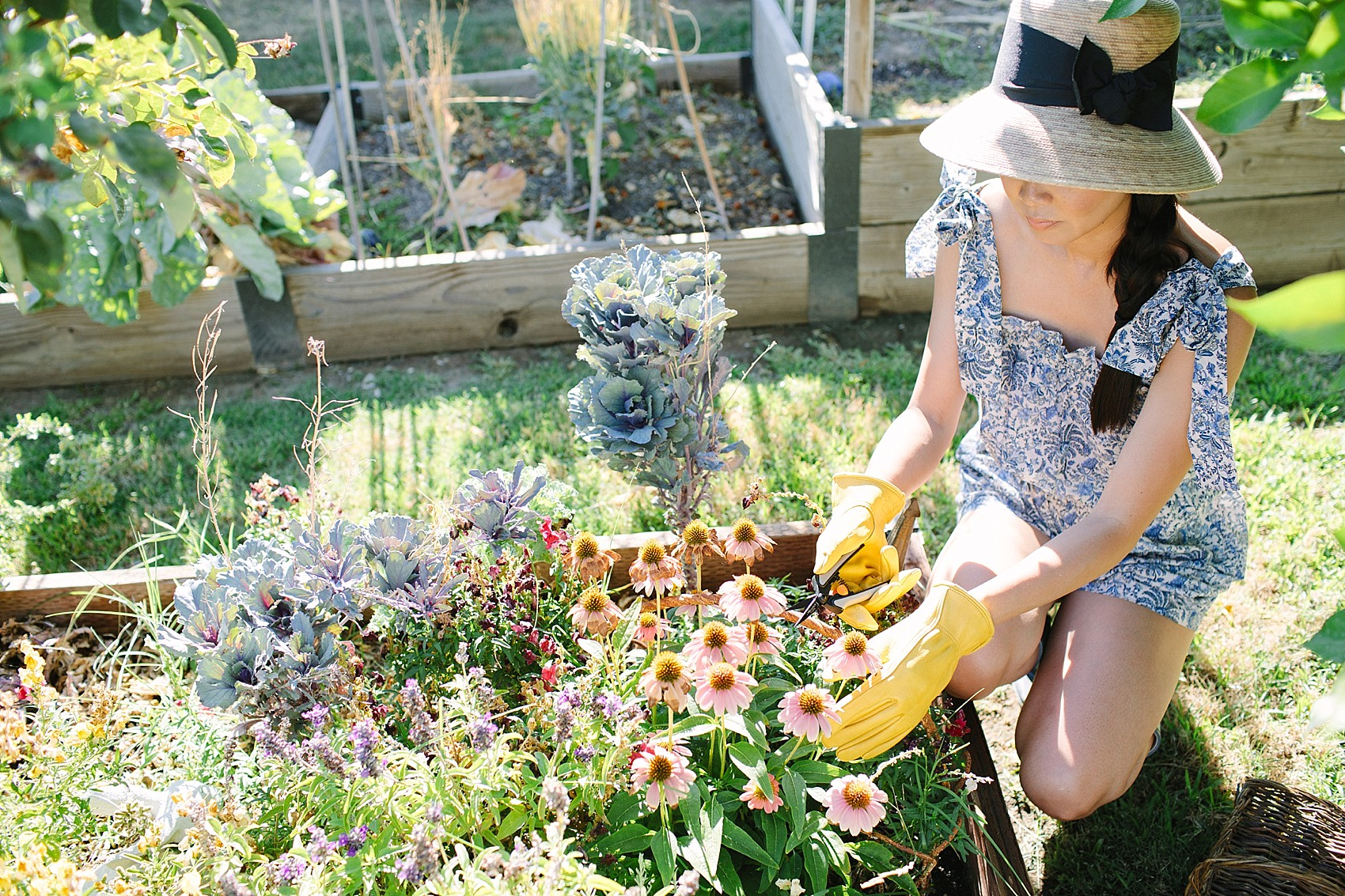 Backyard Pruning + Storing Garden Tools | Diana Elizabeth