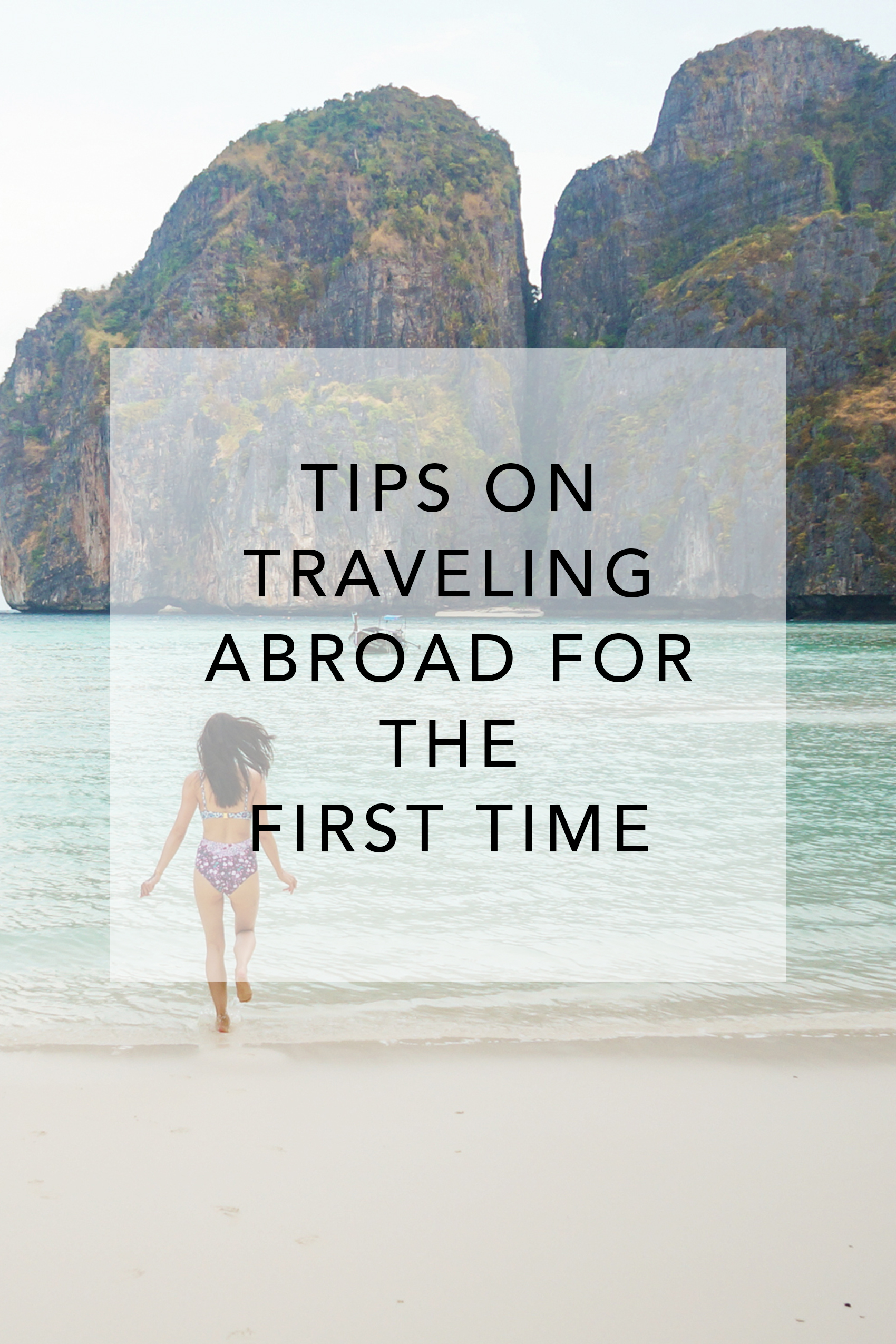 Tips on traveling abroad for the first time