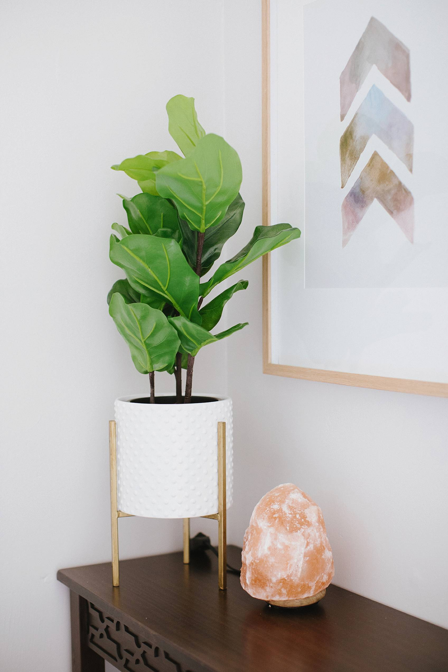 faux fiddle fig plant from target
