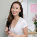 Diana Elizabeth lifestyle beauty blogger holding Lancome products