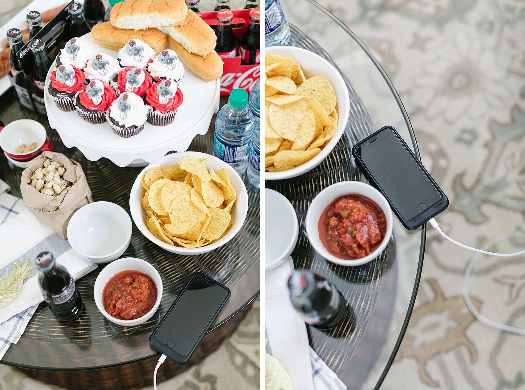 Coke Zero tailgating at home party setup ideas